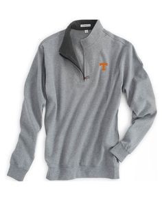 Tennessee Melange Fleece Pullover | Peter Millar