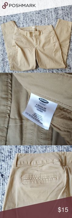 Old Navy Khaki Pants These pants are being sold for a friend and are in very good condition. The Old Navy pants in the cover photo are not an exact match but very close. Old Navy Pants