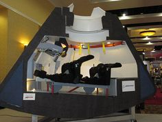 CST-100 mockup (new spacecraft) at National Space Symposium by The Boeing Company, via Flickr