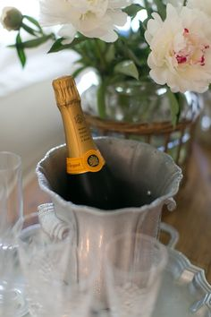 Love this Champagne and love the Champagne bucket too. It looks so feminine.