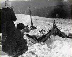 Mountain of the Dead: The Dyatlov Pass Incident. In1959, nine skiers headed out on a journey to the Otorten Mountain Range in the Urals. They never made it. The victims were found frozen to death having run away fro their tents, some in only their socks. Their skin was found to a very high radiation count. What spooked them so much that they abandoned their camp and any hope of survival?