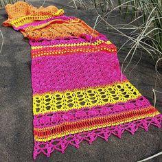 Crochet Wrap Pattern ~ Instant Download ~ Monsoon Stole 74e8f9d4f