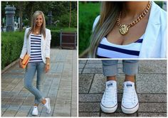 #converse #navy #outfit