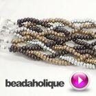 #Tutorial - Videos: How to do a Loose 10 #Strand #Braid and Make a Bracelet   Beadaholique