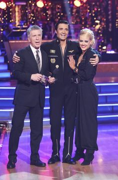 Dancing With The Stars: All-Stars Week 8 Gilles and Peta with Tom Bergeron