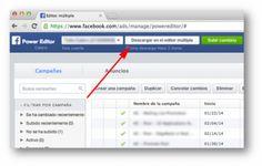 Power Editor de Facebook: 6 pasos para potenciar tus campañas de publicidad