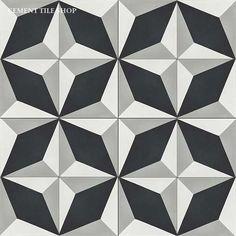 Cement Tile Shop - Encaustic Cement Tile Grand Harlequin