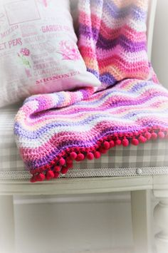 Helen Philipps: Sweetpea Blanket
