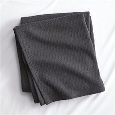 hive graphite blanket | CB2
