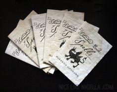 The Standard Book of Spells: (Printable) Harry Potter #halloween #craft