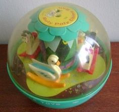 It seemed that every household with a baby had this toy. WM