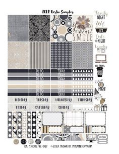 Berlin Sampler - Free Planner Printable | My Planner Envy | Bloglovin'