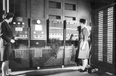 ENIAC, short for Electronic Numerical Integrator And Computer, was the first large-scale, electronic, digital computer capable of being reprogrammed to solve a full range of computing problems. ENIAC was designed at the University of Pennsylvania (1944).