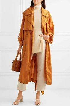 Trench Coat Sale, Designer Trench Coats, Calvin Klein, Oversized Sweater Outfit, Coat Dress, Coats For Women, Womens Fashion, Fall Fashion, Hijab Fashion