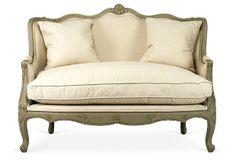 "AUTUMN EN PROVENCE Gabriel 54"" Sofa $1,549.00 $2,565.00 Retail"