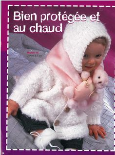 Albums archivés Catalogue, Baby Knitting, Archive, Crochet Hats, Teddy Bear, Nursery, Pattern, Albums, Animals