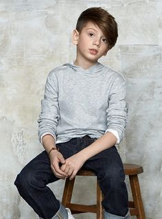 Cute hair style for Ace Boy Haircuts Long, Little Boy Haircuts, Boy Hairstyles, Young Boys Fashion, Little Boy Fashion, Boys Clothes Style, Boys And Girls Clothes, Tween Boy Outfits, Boys Haircut Styles