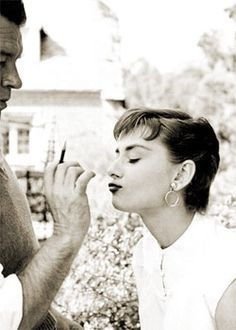 Oh Audrey. He can have you out there, but in the shower, you're mine. #letsscrub