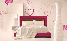Love Hearts Interior Style HD Wallpaper
