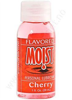 Moist glidemiddel 30 ml assortert smak Kiwi, Nutella, Cherry, Bottle, Desserts, Tailgate Desserts, Deserts, Flask, Dessert