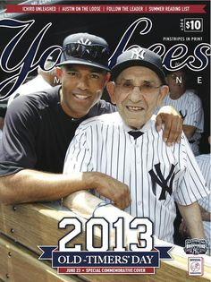 Special Old-Timers' Day commemorative cover of @YanksMagazine