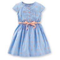 Fox-print dress / Carters