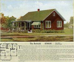 The Burbank  ALADDIN HOUSE PLANS FOR 1916