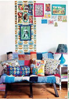 Casinha colorida: Especial salas de estar 2016: projetos impactantes