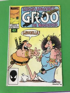 Marvel GROO The WANDERER 1986 Series #18 Comics Book EPIC Aug. Sergio Aragone's
