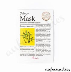 By harnessing the power of bamboo water, this nutritious and hydrating sheet mask relieves dryness with ease. Dry Skin Causes, Korean Face Mask, Peach And Lily, Skin Care Masks, Mini Facial, Skin Detox, Glowy Skin, Dark Skin, Body Powder
