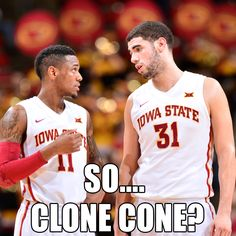 So... Clone Cone? Iowa State Cyclones.