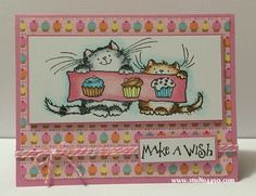 penny black birthday party   Materials used: Stamps – Birthday Party (Penny Black); Dies – Die ...
