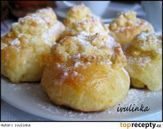 Koláčky od tety z Moravy recept - TopRecepty. Cookie Desserts, Cookie Recipes, Dessert Recipes, Czech Recipes, Lemon Cookies, Cookies Et Biscuits, Christmas Baking, Cheesecake Recipes, Graham Crackers