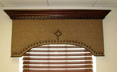 cornice boards ideas | Cornices designed by Leslie Fehling, fabricated by Custom Occasionals ...