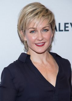 """Amy Carlson Photos - Actress Amy Carlson attends the Annual Paleyfest of """"Blue Bloods"""" at the Paley Center For Media on October 2014 in New York, New York. - Annual Paleyfest New York Presents: """"Blue Bloods"""" Hair Images, Hair Pictures, Short Hair Cuts, Short Hair Styles, Amy Carlson, Hair Color For Women, Remy Hair Extensions, Hair Care Tips, Great Hair"""