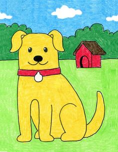 Cartoon Drawing For Kids, Drawing Pictures For Kids, Scenery Drawing For Kids, Toddler Drawing, Drawing Lessons For Kids, Easy Drawings For Kids, Art Drawings Sketches Simple, Colorful Drawings, Painting For Kids