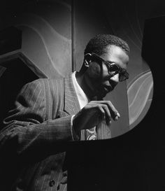 Thelonious Monk (1917-1982). Photo by William Gottlieb.