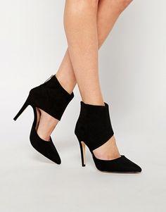 KG By Kurt Geiger Hart Cut Out Heeled Shoe Boots
