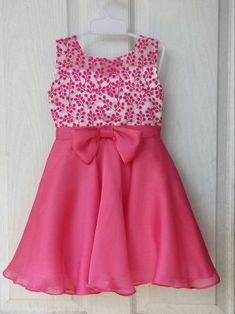 Flower girl pink dress available size 16 to 26 contact venuKids frocks designs, Typically girls and women wear frocks. Especially frocks wear in formal events like weddings and Birthday parties.Fashion Nova For ToddlersOnline shopping from a great se Frocks For Girls, Little Girl Dresses, Girls Dresses, Baby Frocks Designs, Kids Frocks Design, Baby Girl Frock Design, Kids Blouse Designs, Baby Girl Dress Patterns, Kids Lehenga