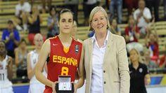 La española Ángela Salvadores se luce en la final del Mundial sub-17 de baloncesto femenino clavándole 40 puntos en la final a EEUU. Estratosférico!! Vaya crack!