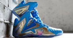 #Nike LeBron 11 Elite Blue 3M #sneakers