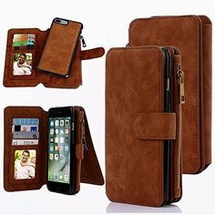 Miniko(TM) iPhone 7 Plus Lady Zipper Clutch Wallet Purse Handbag Clutch Case/Purse/Wristlet/Wallet/Clutch/Folio/Credit Card Holder Leather Case for Women Girls Brown  BUY NOW     $16.99      Product Description :   Miniko has always devoted itself to providing fashion and superior products with the end-users, so  ..  http://www.welovefashion.top/2017/03/16/minikotm-iphone-7-plus-lady-zipper-clutch-wallet-purse-handbag-clutch-casepursewristletwalletclutchfoliocredit-card-holder-..