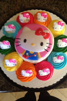 A Hello Kitty birthday treat.