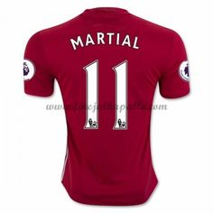 Jalkapallo Pelipaidat Manchester United 2016-17 Martial 9 Kotipaita