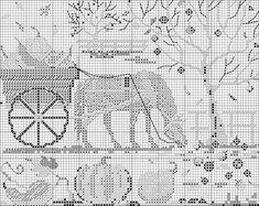 """Волшебная лошадка"""" - схема вышивки. Обсуждение на LiveInternet - Российский Сервис Онлайн-Дневников"""