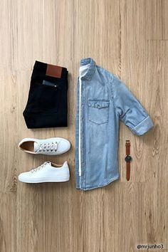 CHICS KIND is an online magazine for men's fashion. Mens Casual Dress Outfits, Smart Casual Outfit, Stylish Mens Outfits, Men Dress, Cool Outfits, Casual Attire, Trendy Mens Fashion, Fashion Fashion, Fashion Tips