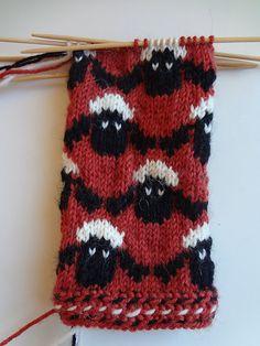 "knitting pattern called ""Lammaslapaset""  by Pirkko Hartikainen - in Finnish knitting magazine ""Novita lapaslehti 2014"" published in February 2014  - seen on ravelry"