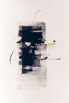 15, Pigments sur papier fait main, 50 x 65 cm - 2001 / Kitty Sabatier