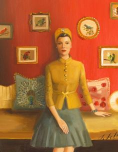 The Matriarch Of Black Walnut Manor. Silke Was An Inventor, An Amateur Ornithologist And Kept A Well Ordered House by Janet Hill