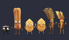 Chip, Wheat and Sushi Dream Team, for Lays, Pepsico Snacks.